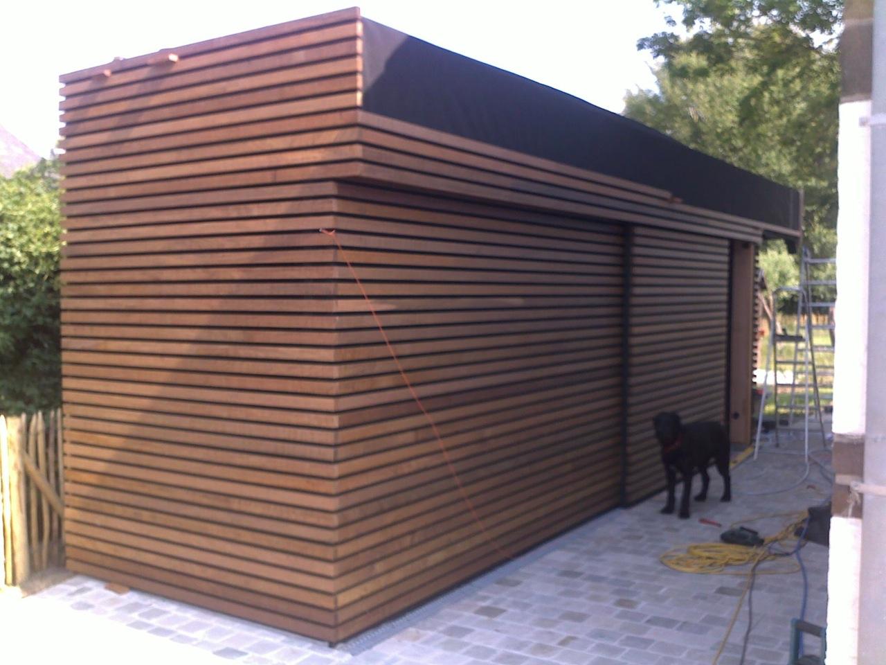 houten bijgebouw 01 houtskeletbouw ref 201 parket houten ...